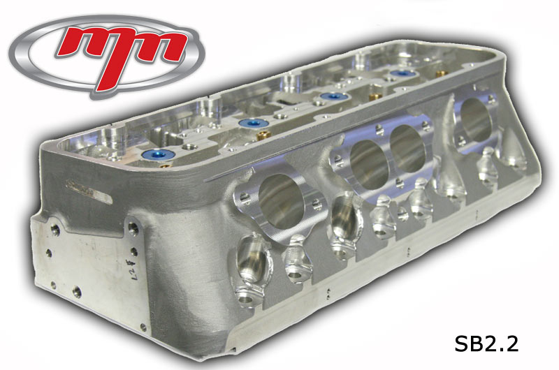 MM Competition SB22 Small Block Chevy Racing Cylinder Head