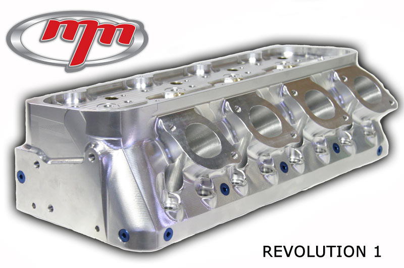 M&M Competition Racing Small Block Chevy Auminum Heads