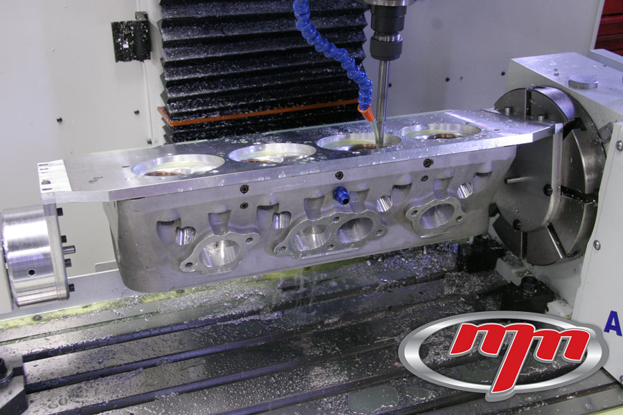 Engine Machine Shop >> M&M Competition Engines Racing Cylinder Head Intake ...